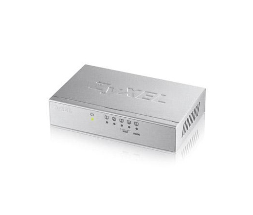NET ZYXEL GS-105B V3 5-Port Desktop Gigabit Ethernet Switch
