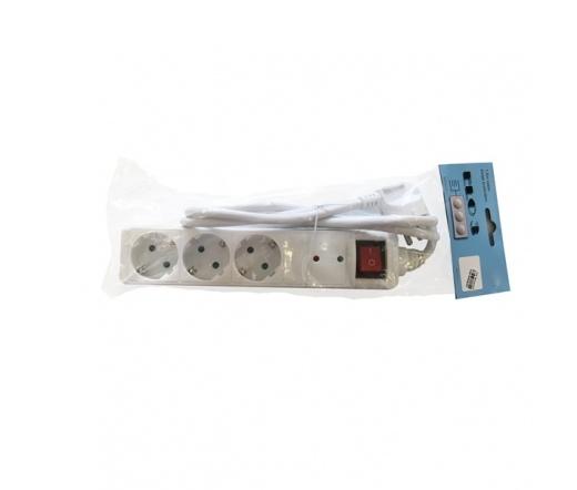 Túlfeszültségvédős 3-as elosztó Schuko, 1,5m, IEC320 C20 16A (3.300.408.1)