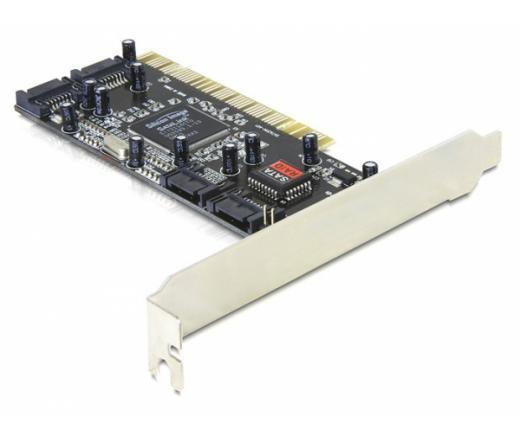 I/O DELOCK PCI RAID Vezérlő 4x SATA Port (70154)