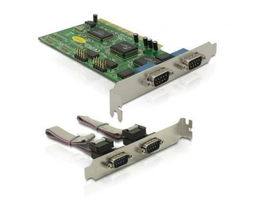 I/O DELOCK PCI -> 4x Serial (89046)