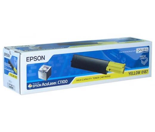 Toner Epson S050187 sárga nagy kapacitású