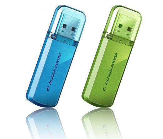 Pendrive 4GB Silicon Power Helios 101 Green USB2.0
