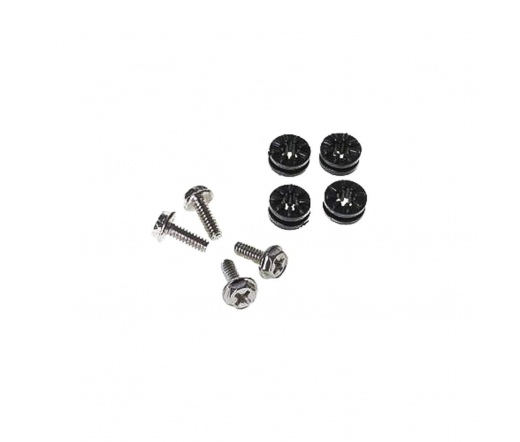 Lamptron HDD Rubber Screws PRO - Pure Fekete