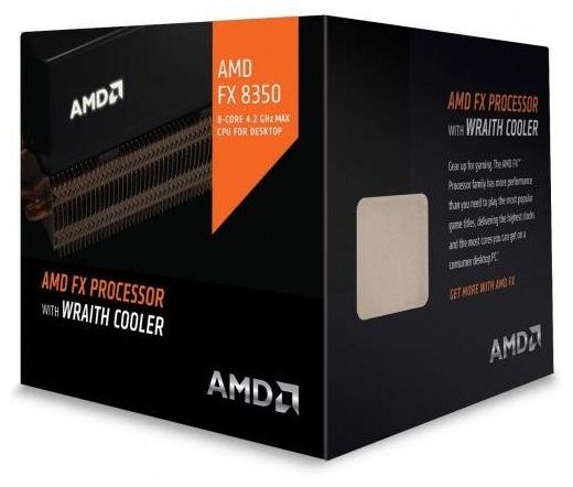 AMD FX-8350 BOX with Wraith Cooler