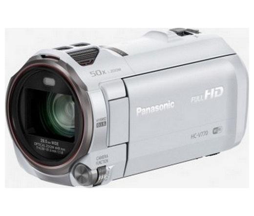 PANASONIC HC-V770EP-W Full HD Videókamera fehér