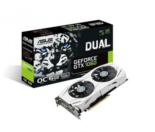 Asus DUAL-GTX1060-O6G 6GB DDR5
