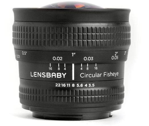 LENSBABY Circular Fisheye 5.8mm f/3.5 (Canon EF)