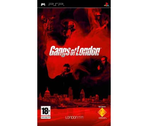 GAME PSP Gangs of London Platinum