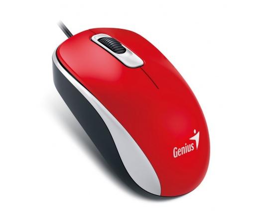 GENIUS MOUSE DX-110 USB Piros