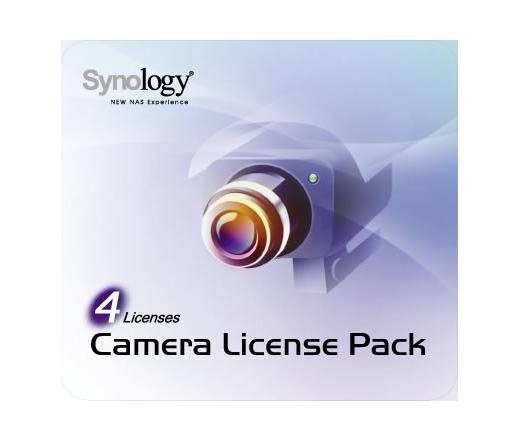 NAS SYNOLOGY Camera 4 4 darab kameralicenc