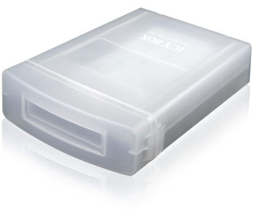 "RAIDSONIC Icy Box IB-AC602A 3,5"" HDD tároló doboz fehér"