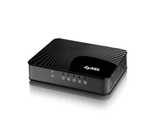 NET ZYXEL GS-105S 5-Port Desktop Gigabit Ethernet Media Switch