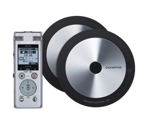 OLYMPUS DM-720 Diktafon Meet & Record large Kit