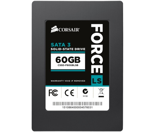 "SSD SATA 2,5"" CORSAIR 60GB Force LS B"