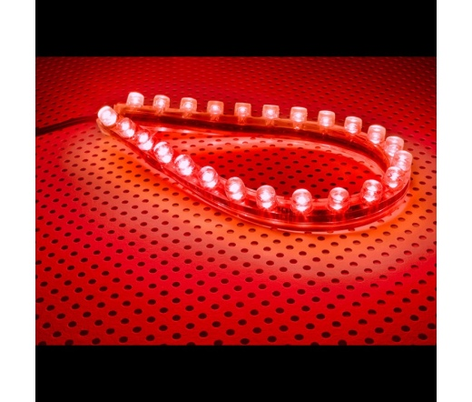 Lamptron FlexLight Standard - 24 LEDs - Fire Red