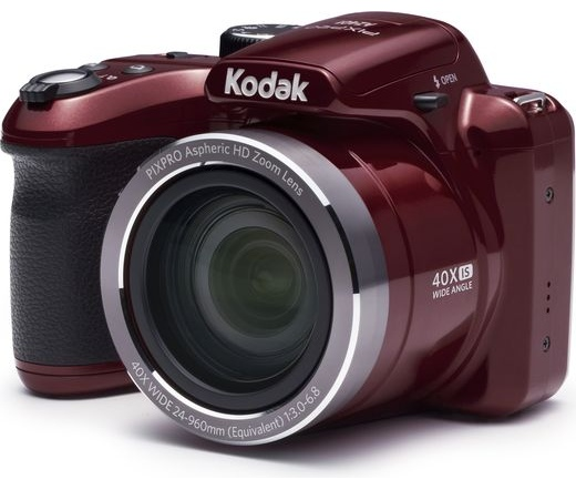 Kodak PixPro AZ401 piros digitális fényképezőgép