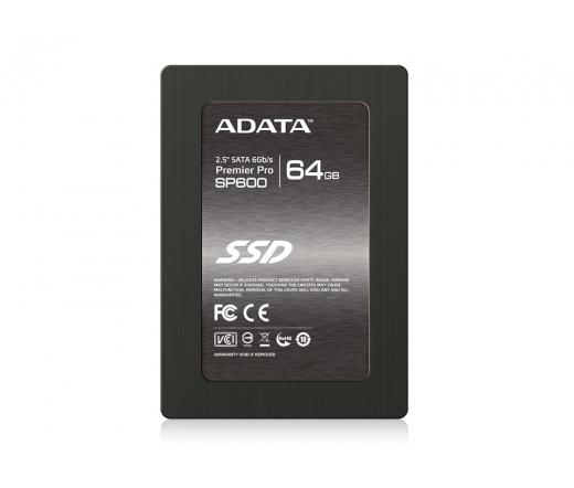 """SSD SATA III 2,5"""" ADATA 64GB SP600 Premier Pro Series"""