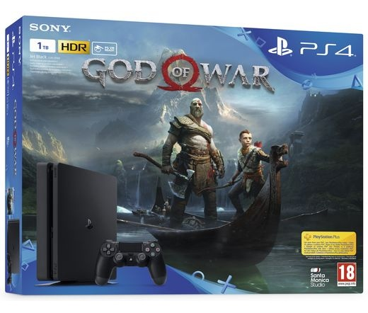 SONY PS4 SLIM 1TB + God of War