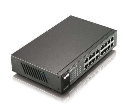 NET ZYXEL GS1100-16 16-port Gigabit Unmanaged Switch