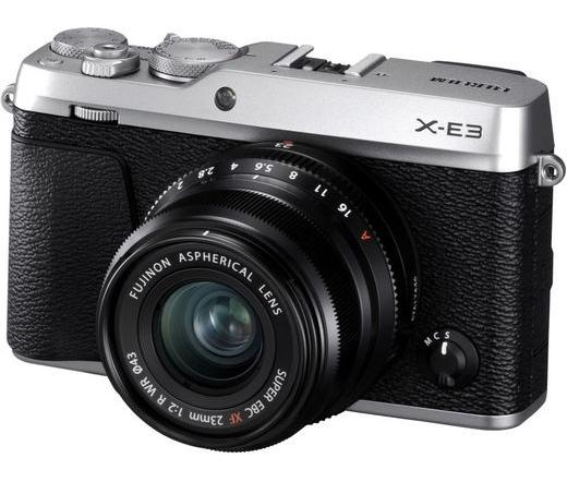 FUJIFILM FINEPIX X-E3 + 23mm Ezüst Kit
