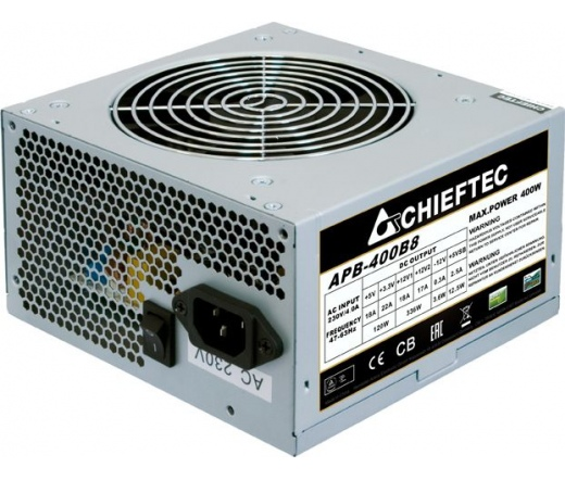 TÁP CHIEFTEC Value APB-400B8 400W ATX OEM