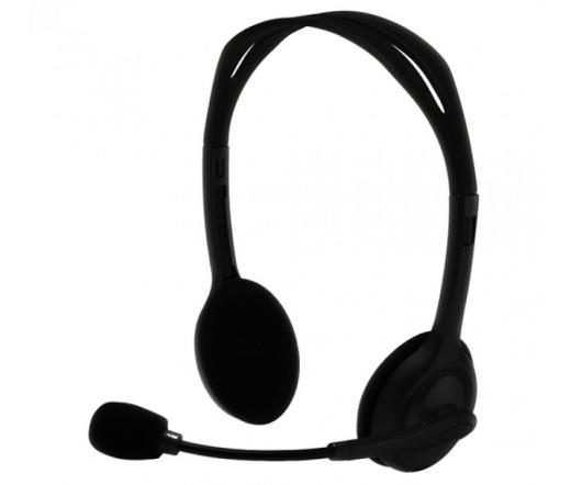 Silver Line HS-11V mikrofonos fejhallgató