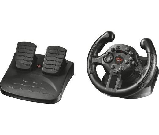 Trust GXT570 Compact Vibration Racing Wheel kormány + pedál