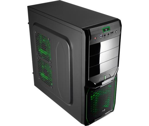 HÁZ AEROCOOL V3X Advance Evil Green Edition