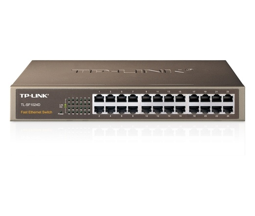 NET TP-LINK TL-SF1024D 24port switch metal