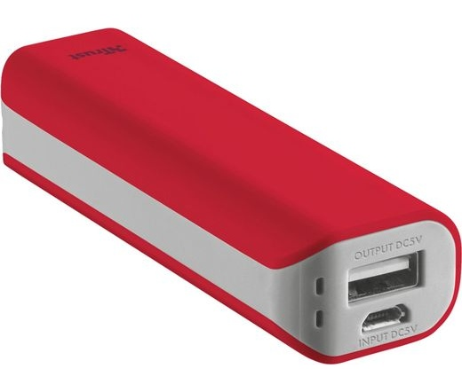 Trust Urban Primo 2200mAh piros power bank