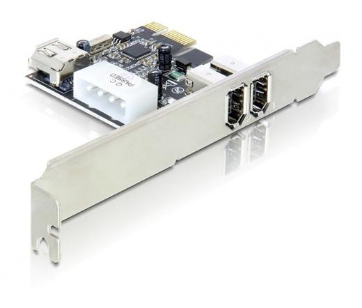 I/O DELOCK PCI-E -> FireWire A 2+1 (89213)