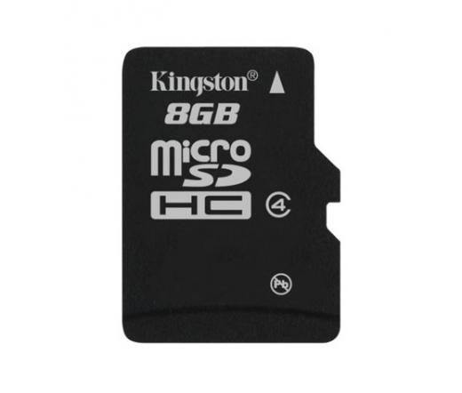 Card MICRO SD Kingston 8GB Adapter nélkül CL4