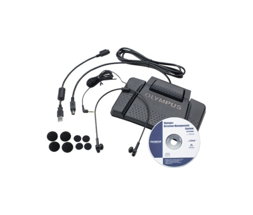 OLYMPUS AS-7000 Transcription Kit incl. RS-31, E-62 and ODMS Software