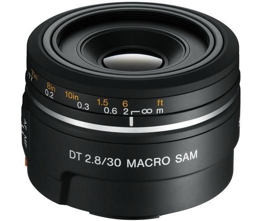 Sony SAL30M28 DT 30mm f/2,8 SAM makró objektív