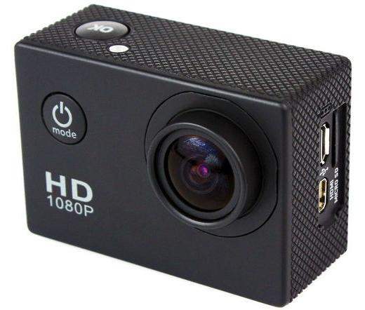 Acmell SJ4000/SD28 akciókamera Black (FULL HD 1080p rögzítés, színes kijelzővel)