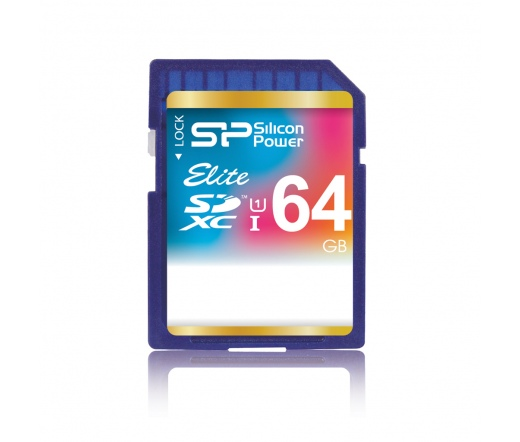 Card SDXC Silicon Power 64GB UHS-I Elite (50MB/s | 15MB/s) CL10