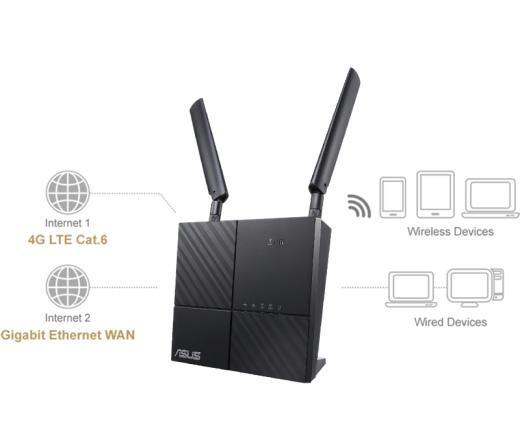 ASUS 4G-AC53U AC750 Dual-Band LTE Wi-Fi Modem Rout...