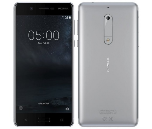 TEL NOKIA 5 DS Silver 16GB