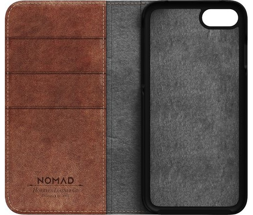 Nomad - Leather Folio tok (iPhone 7/8)
