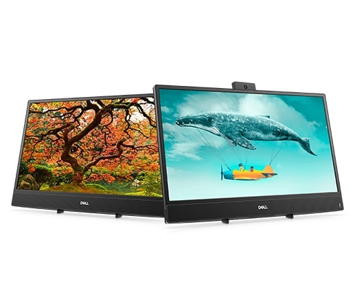 "PC Dell Inspiron AIO 3477 23,8"" FHD i3-7130U 4GB 1TB W10H fekete"