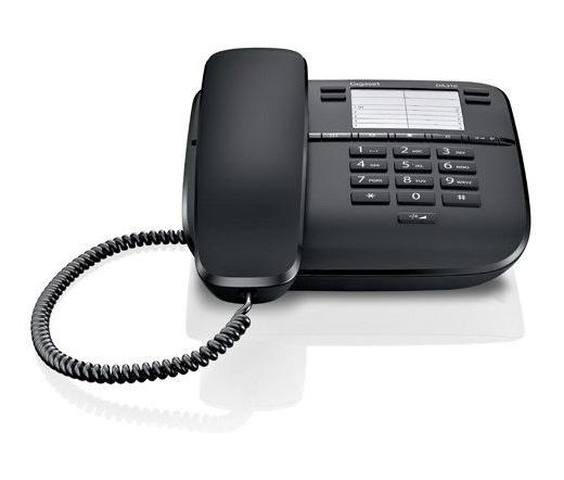 TEL GIGASET Telefon DA310 Black