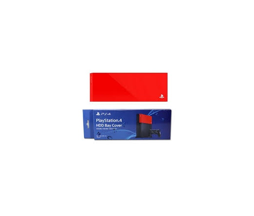 PS4 PS4K HDD Bay Cover Red