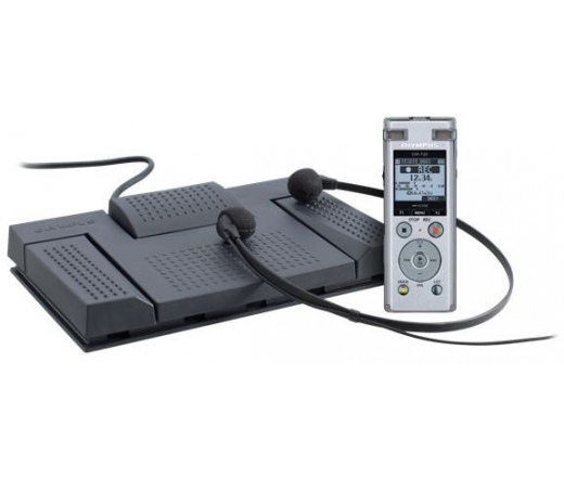 OLYMPUS DM-720 Diktafon Record & Transcribe Kit