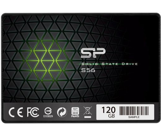 "SSD SATA 2,5"" SILICON POWER 120GB Slim S56 7mm"
