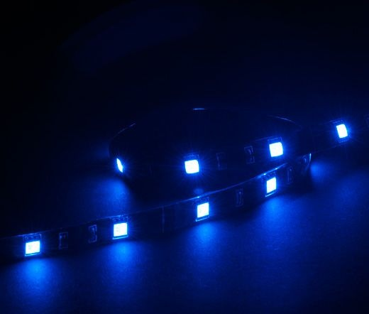 AKASA Vegas 15x LED-Strip 50cm - Kék