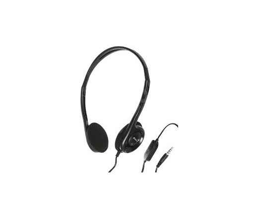 GENIUS Headphone HS-200C Fülhallgató+mikrofon Single Jack
