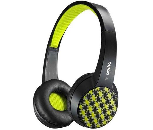 RAPOO S100 Bluetooth Headset Fekete-Zöld empty ee24d7a3dd