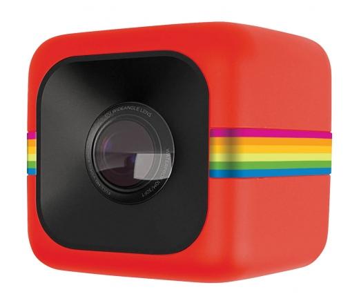 Polaroid Cube Full HD akciókamera, piros