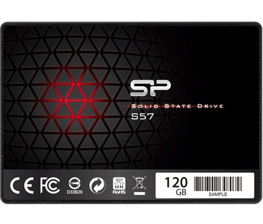 "SSD SATA 2,5"" SILICON POWER 120GB Slim S57 Marvell 7mm"