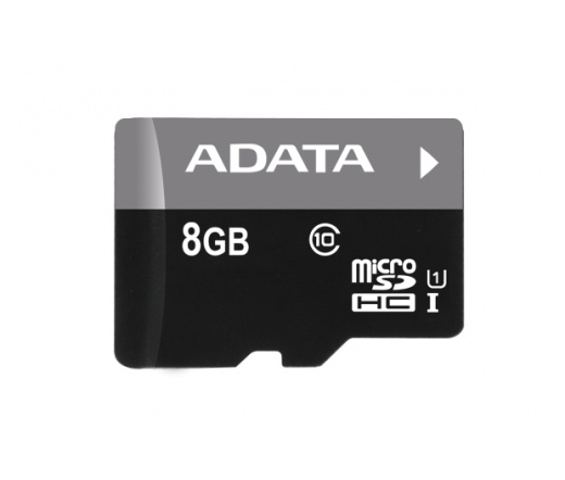 Card MICRO SDHC Adata Premier 8GB 1 Adapter UHS-I CL10